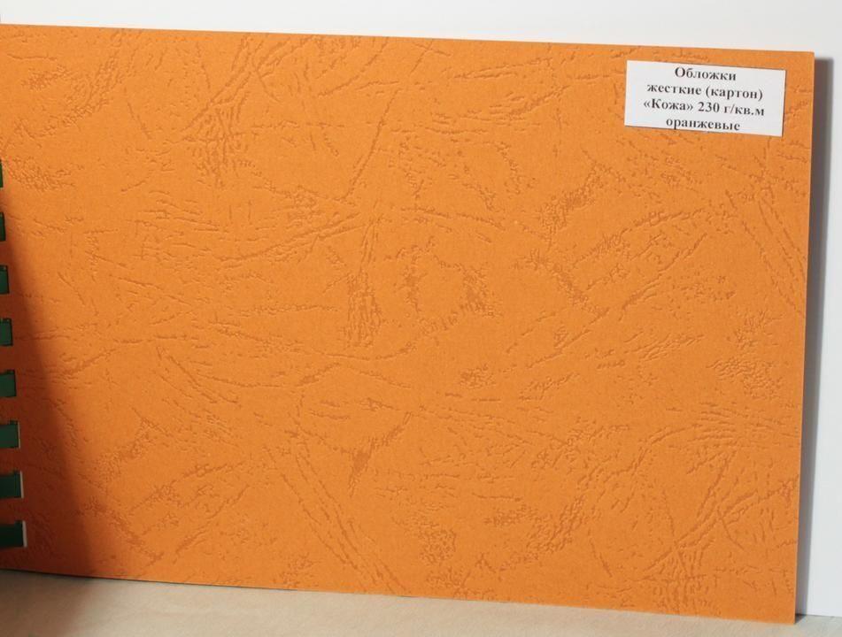 Картонная обложка для книги