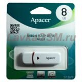 USB накопитель Apacer 8GB AH333 white