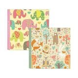 Ф/альбом  Innova Q4107130M Cute Animals Glue bound slip in memo album 200 photos